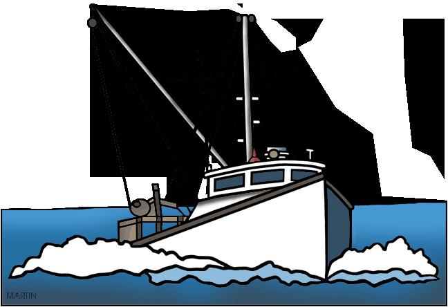 Boats clipart fishing trawler. Vessel boat clip art