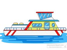 Free and ships clip. Boats clipart house boat