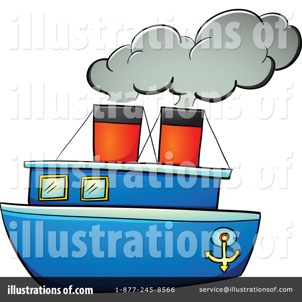 By graphics rf royaltyfree. Boat clipart illustration