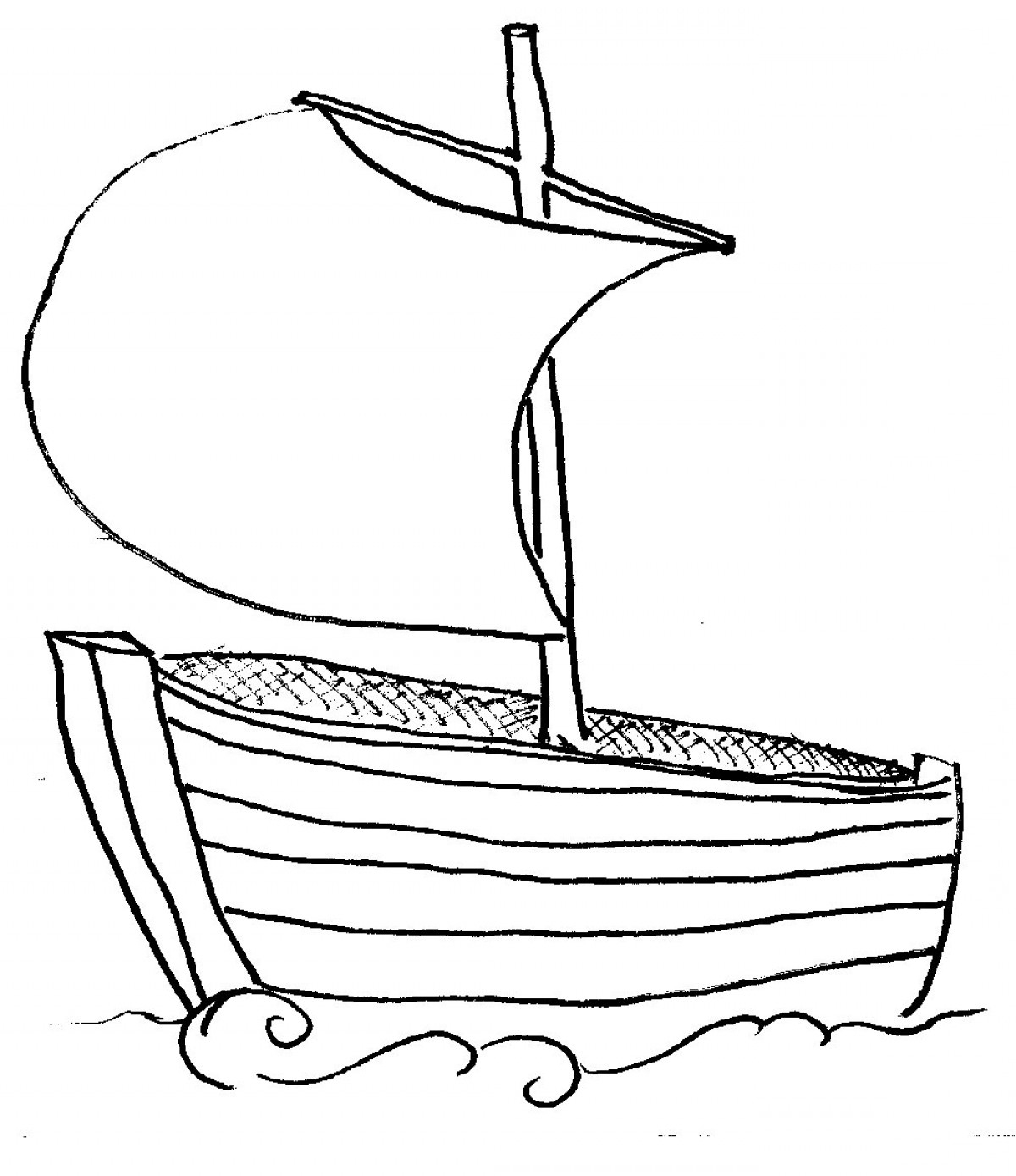 Boating clipart black and white. New boat collection digital
