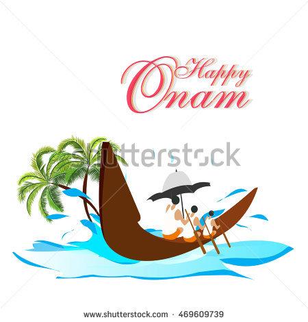 Boats clipart logo. Onam festival boat race