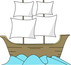 Free printable coloring pages. Boats clipart mayflower