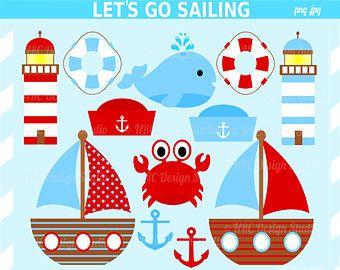 Boats clipart nautical. Summer clip art let