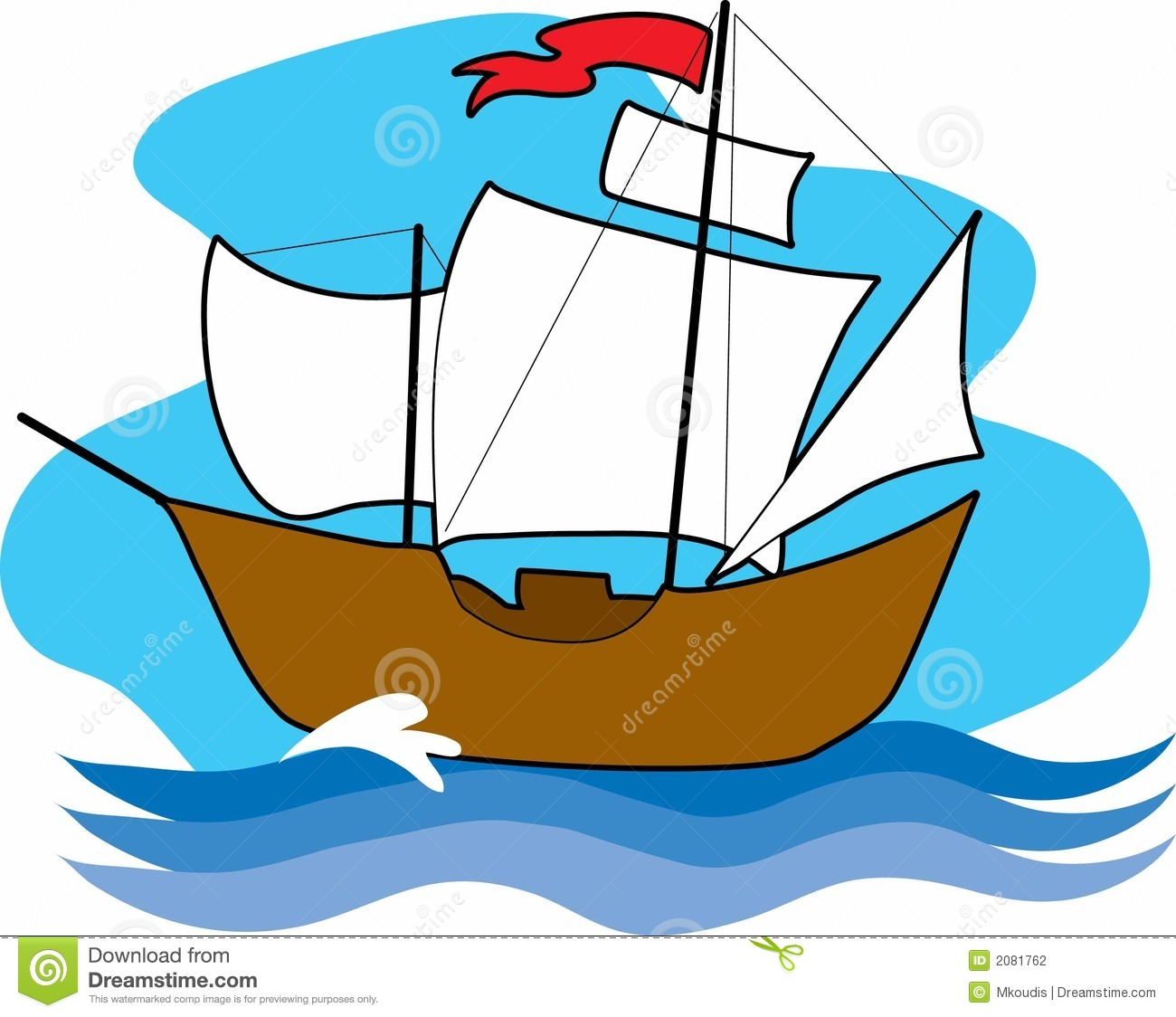 Sailing boat free download. Boats clipart old fashioned