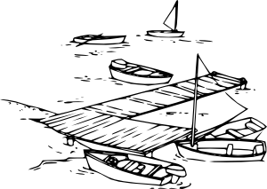 Boats clipart outline. Sail clip art at