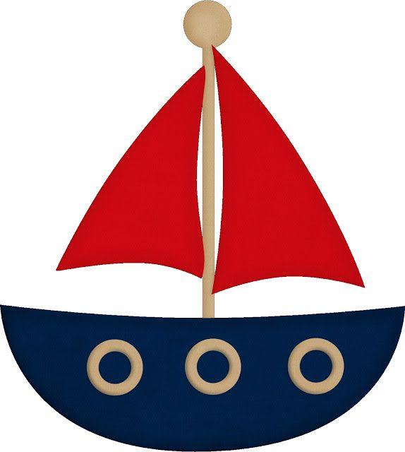 Boats clipart printable. Kit de festa personalizado
