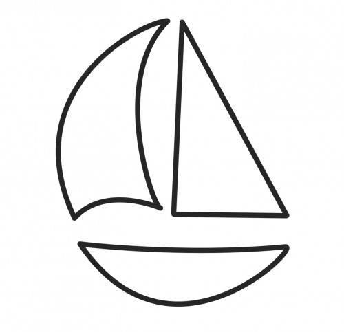 Boats clipart printable. Boat template templates degree