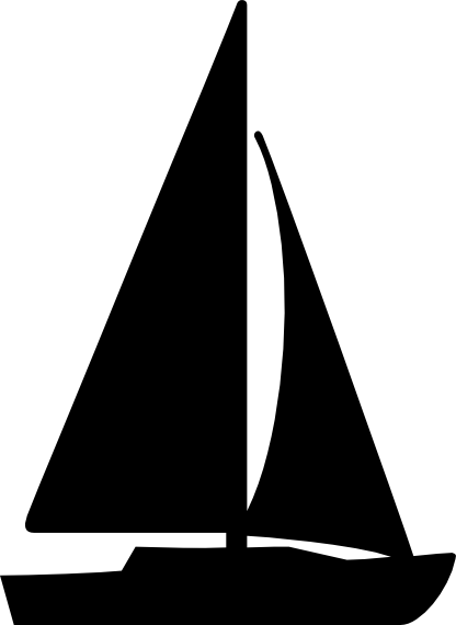 Boats clipart schooner. Sailboat svg sail boating