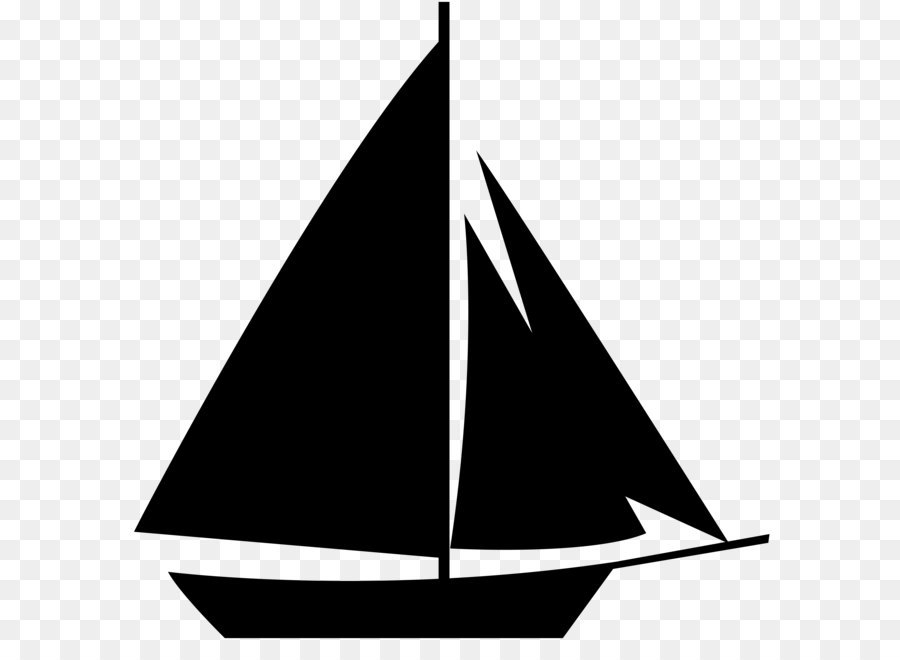 Boats clipart schooner. Sailboat silhouette clip art