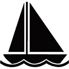Pin by muse printables. Boats clipart silhouette