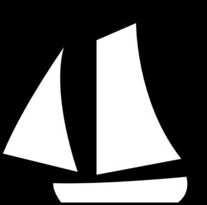 Sailboat drawing panda free. Boats clipart simple