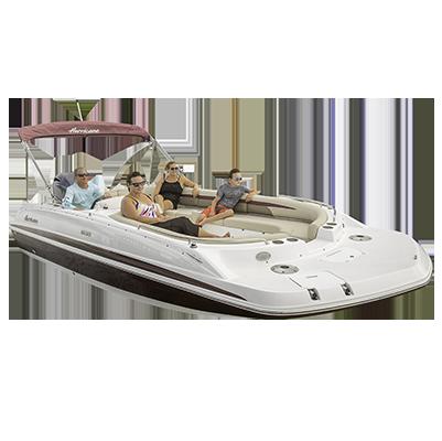 Sundeck hurricane deck sport. Boats clipart ski boat
