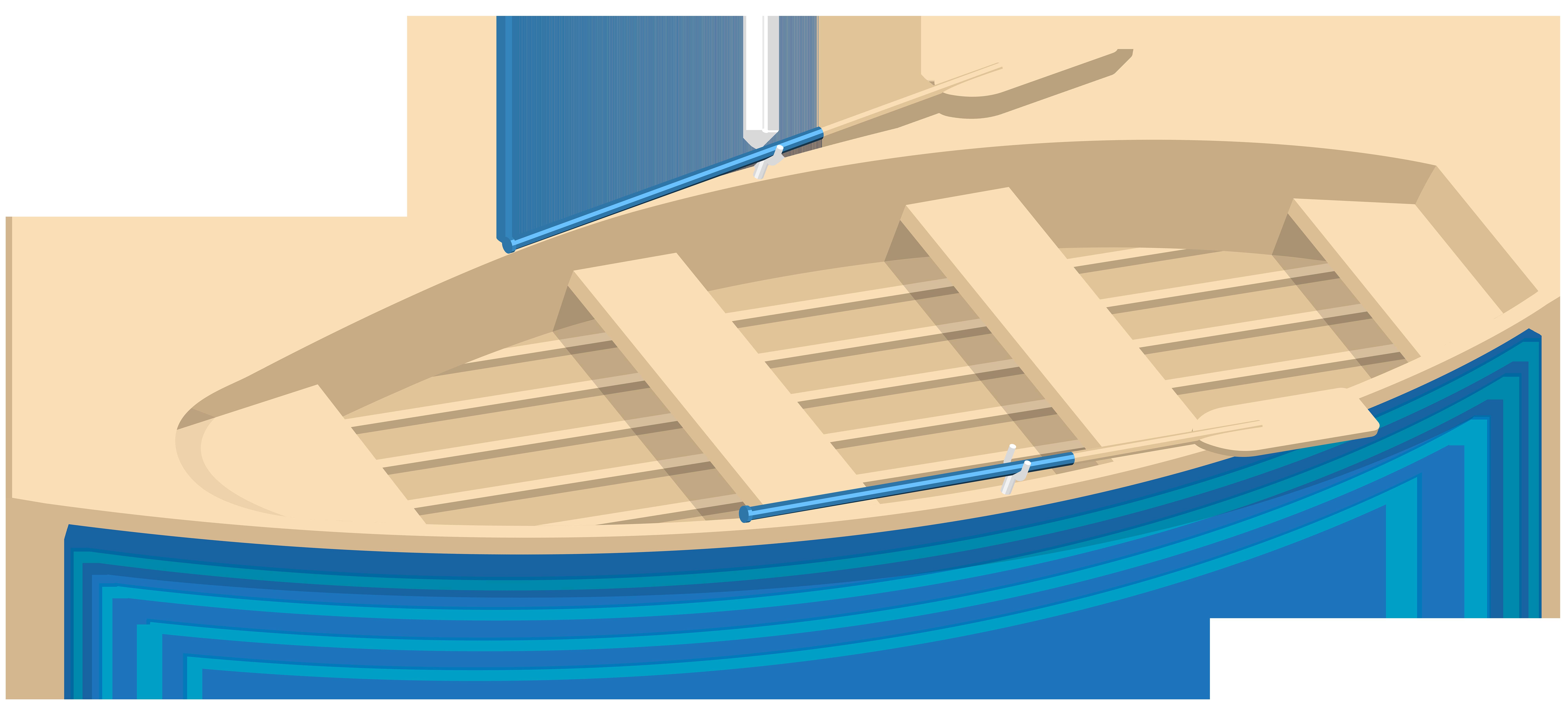 Blue boat transparent clip. Boats clipart skiff