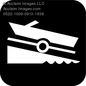Boats clipart symbol. Acclaim images boat ramp
