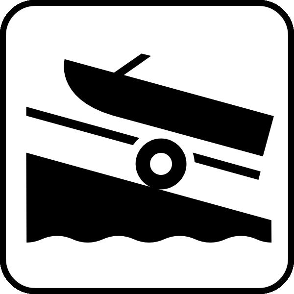 Boats clipart symbol. Map symbols boat trailer