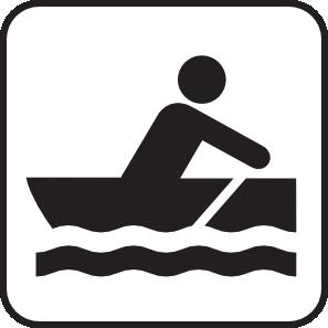 Rowboating row boating white. Boats clipart symbol