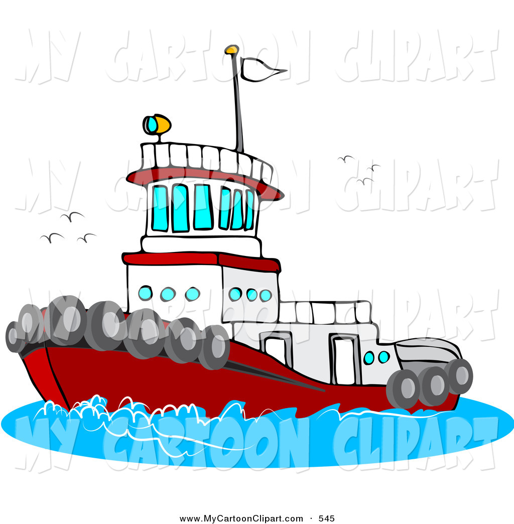 Boats clipart tugboat. Ship pencil and in