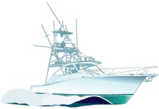 Boats clipart vector. Fishing boat jet ski