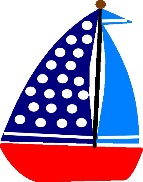 Boats clipart vector. Sail boat clip art
