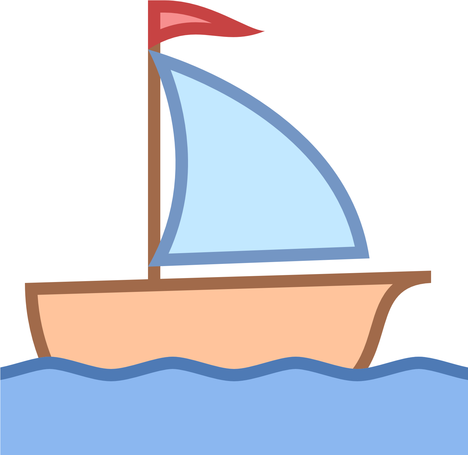 Boats clipart yacht. Sailing boat little png