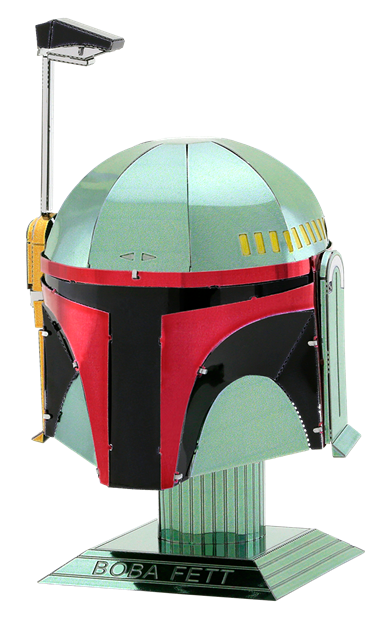 Fascinations metal earth d. Boba fett helmet png