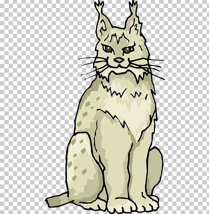 Bobcat clipart artwork. Eurasian lynx whiskers png
