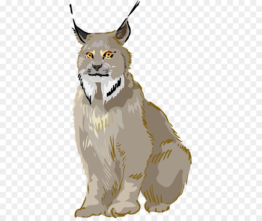 Bobcat clipart canada lynx. Eurasian whiskers clip art