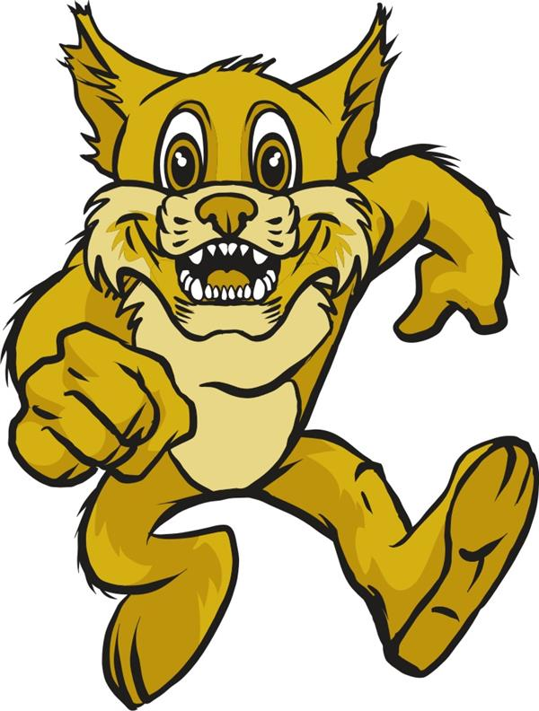 Bobcat clipart cartoon. Free clip art logo