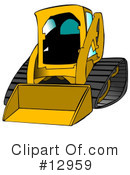 Skid loader illustration by. Bobcat clipart construction