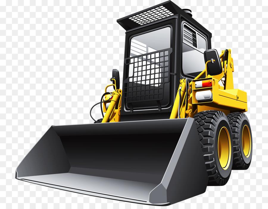 Skid steer loader stock. Bobcat clipart construction