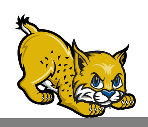 Bobcat clipart cute. Free images at clker