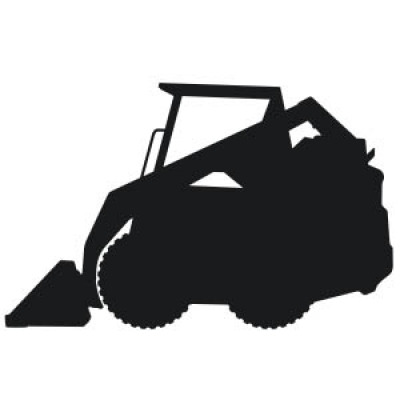 Vinyl decal sticker . Bobcat clipart equipment bobcat