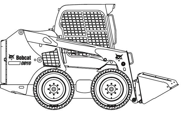 Bobcat clipart equipment bobcat. Skid steer loader s