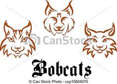 Bobcat clipart friendly. Mascot image of wildcats