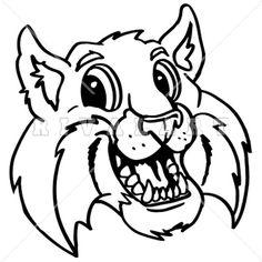 Bobcat clipart friendly.  best clip art