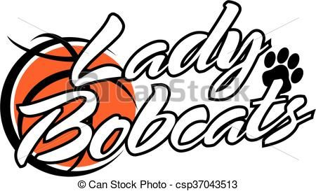 Bobcat clipart icon. Vector lady bobcats stock