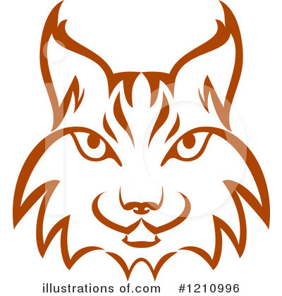 By vector tradition sm. Bobcat clipart illustration