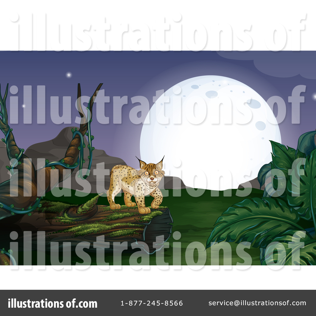 Bobcat clipart illustration. By graphics rf royaltyfree