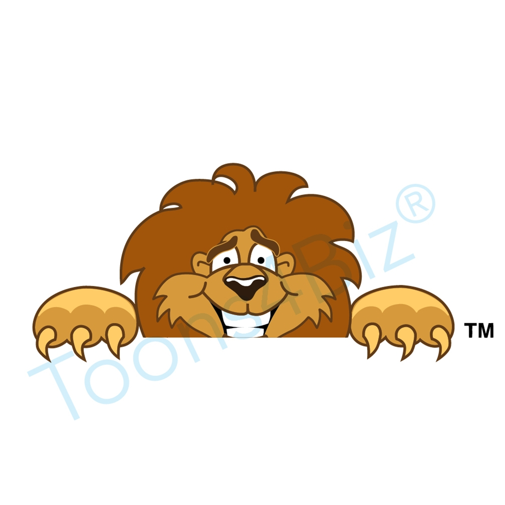 S pencil and in. Bobcat clipart lion
