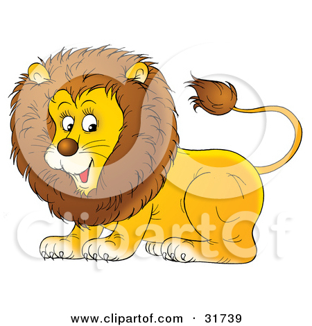 Bobcat clipart lion. Relaxed clipground preview