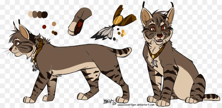 Drawing anime animated cartoon. Bobcat clipart lynx