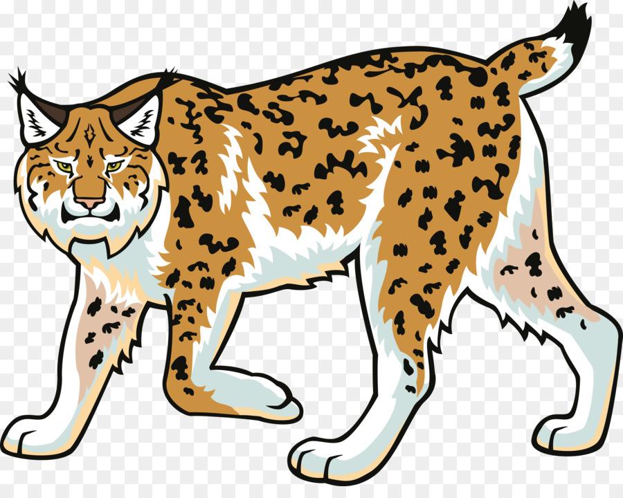 Cat drawing png download. Bobcat clipart lynx