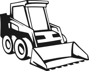 Bobcat clipart machine. Jcb pencil and in