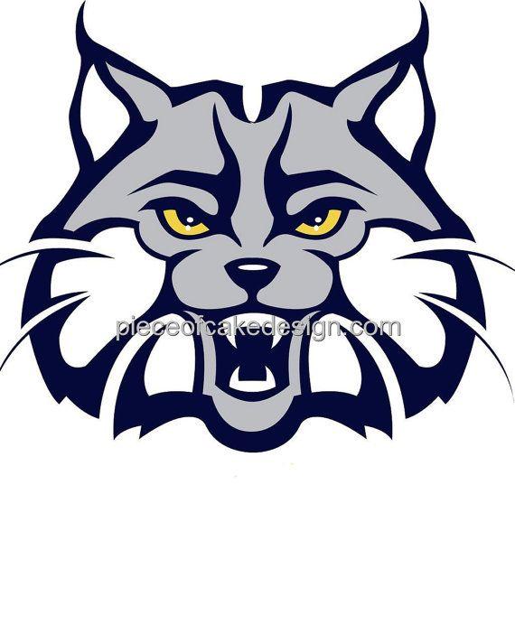 Bobcat clipart mascot.  best bobcats images