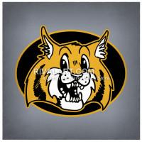 Bobcat clipart mascot. On rivalart com wildcat