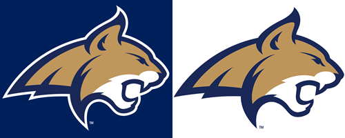 Bobcat clipart montana state university. Athletic logo standards and