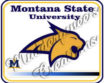 Bobcat clipart montana state university. Msu bobcats etsy