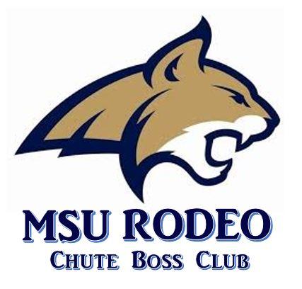 Bobcat clipart montana state university. Chute boss club rodeo