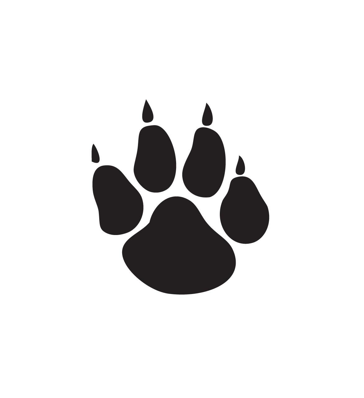 Free bobcat download clip. Wildcat clipart paw print