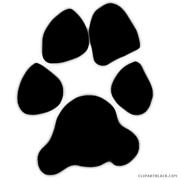 Clipartblack com animal free. Bobcat clipart paw print
